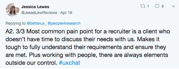 uxchat participant recruitment ux research