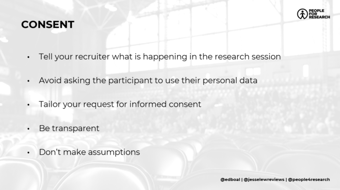 gdpr webinar user research user recruitment